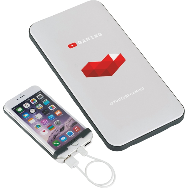 UL Listed Zoom® Energy Rally 6,000 mAh Power Bank