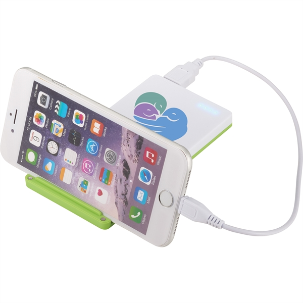 UL Listed Mag 4000 mAh Power Bank with Phone Stand