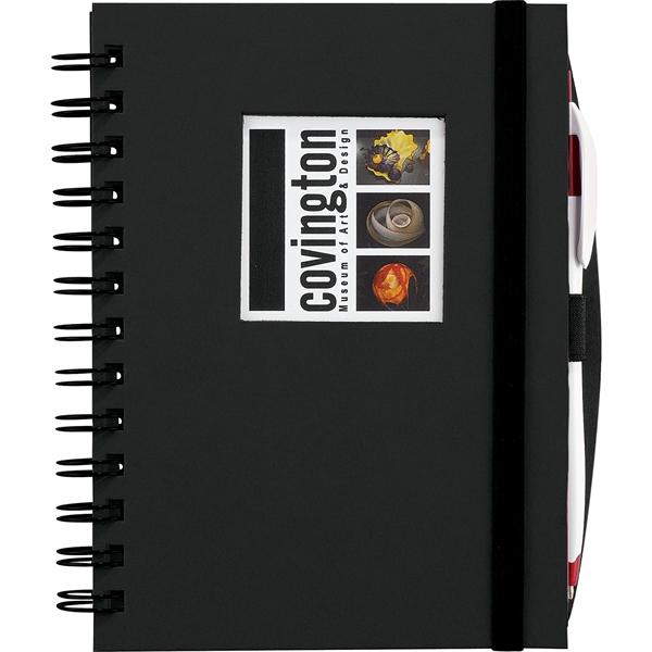 Frame Square Hardcover Spiral JournalBook™