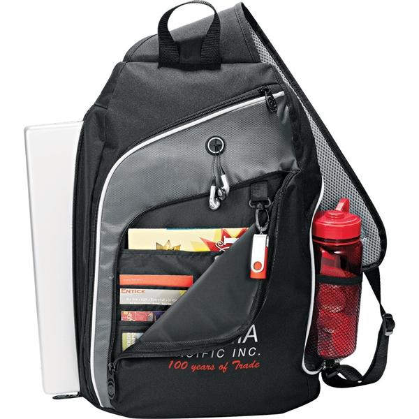 """Vortex 15"""" Computer Sling Backpack"""