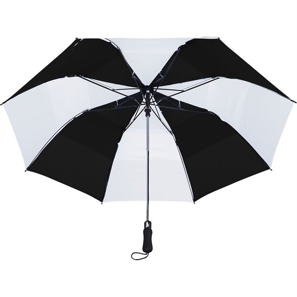 "58"" Vented Auto Open Folding Golf Umbrella - 58"" Vented Auto Open Folding Golf Umbrella"