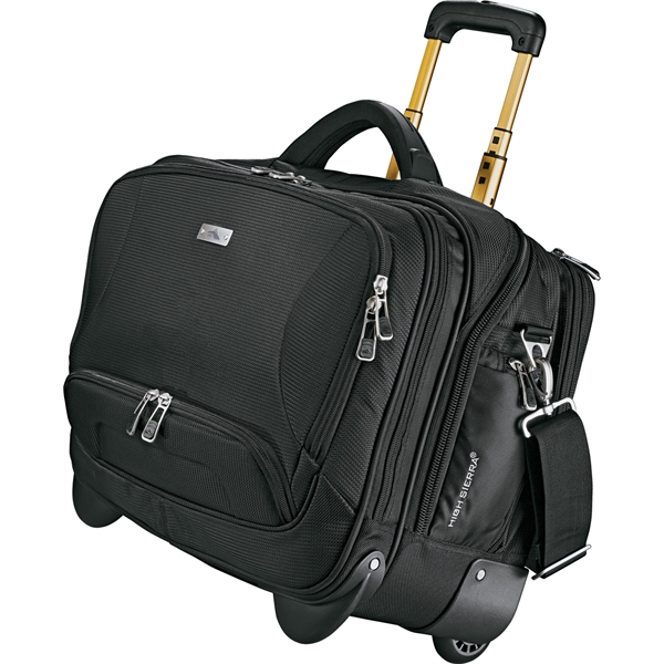 High Sierra® Integral Wheeled Computer Briefcase