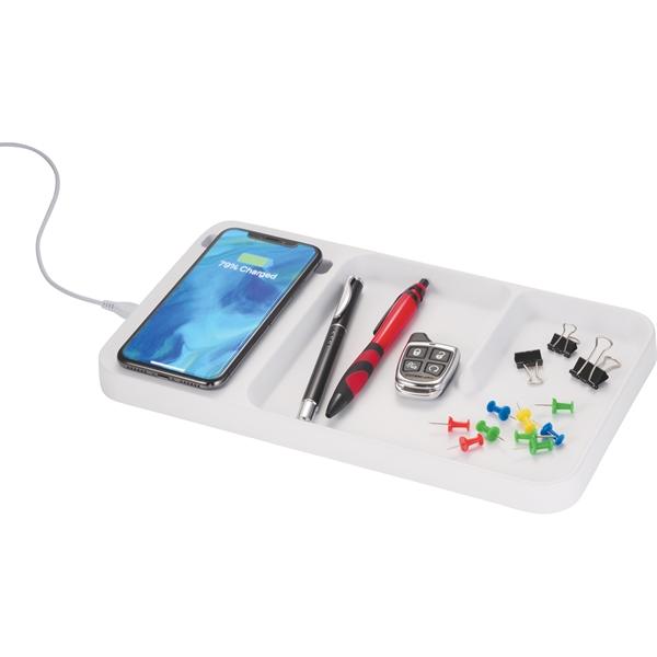 Wireless Charging Desk Organizer