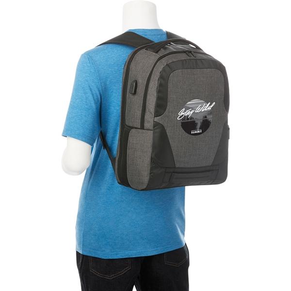 "Overland 17"" TSA Computer Backpack w/ USB Port"