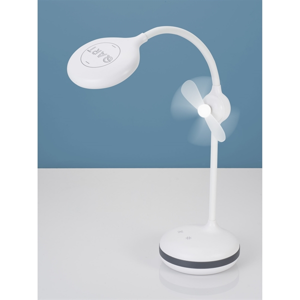 Desk Lamp with Fan