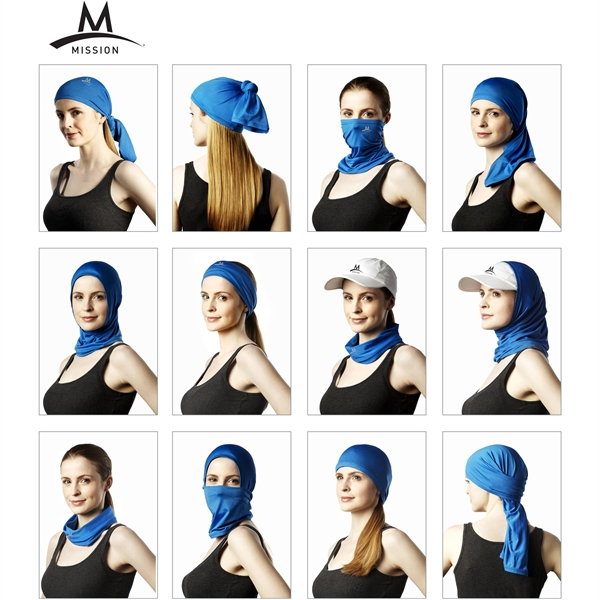 Mission Cooling Neck Gaiter Towel & Face