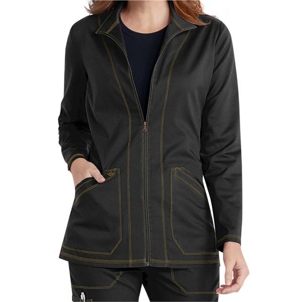 Dickies® Women's Essence Zip Front Warm Up Scrub Jacket