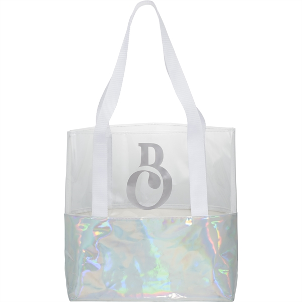 Holographic Boat Tote