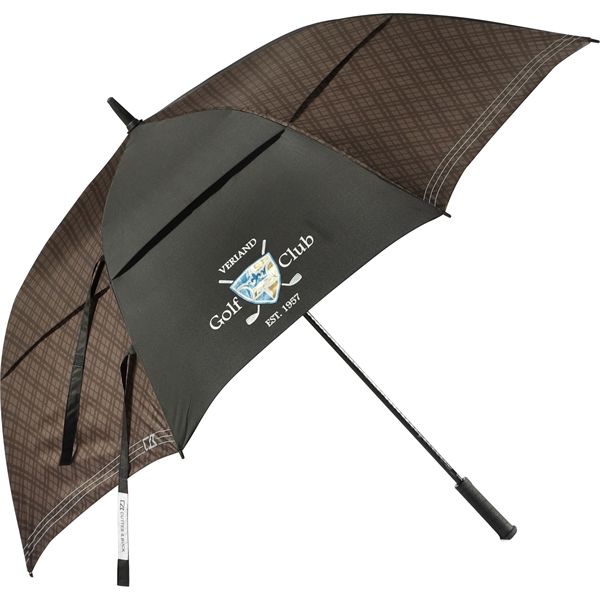 "64"" Cutter & Buck Plaid Golf Umbrella"