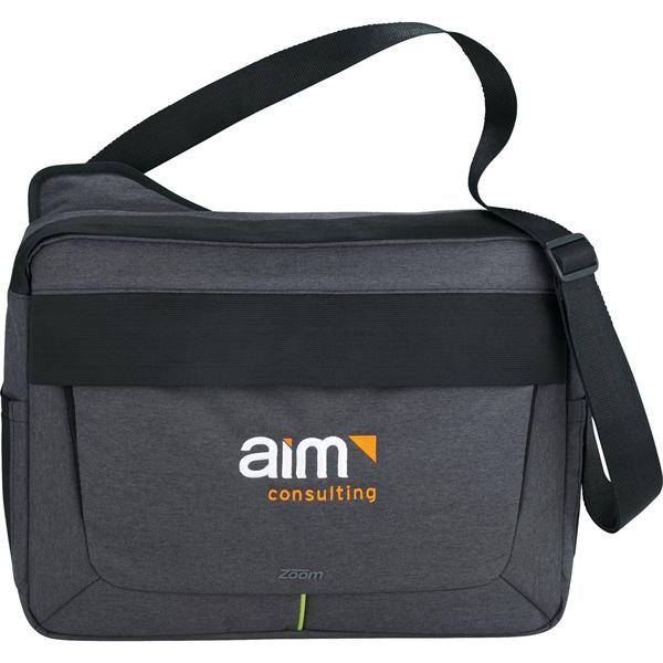 "Zoom® Power Stretch 15"" Computer Messenger Bag"