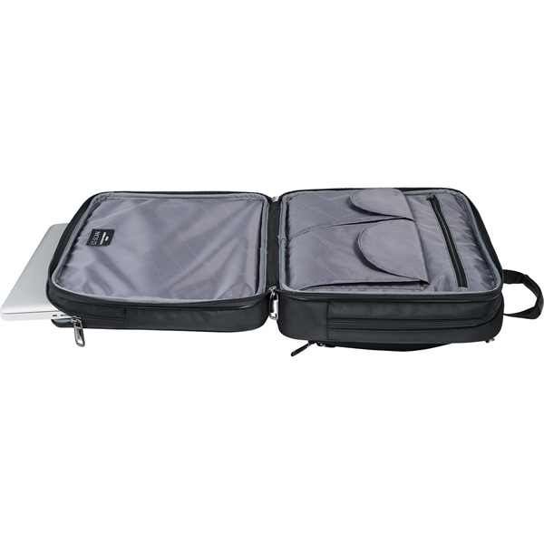 Kenneth Cole® EZ-Scan Double Gusset Laptop Case