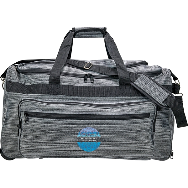Graphite Rolling Duffel