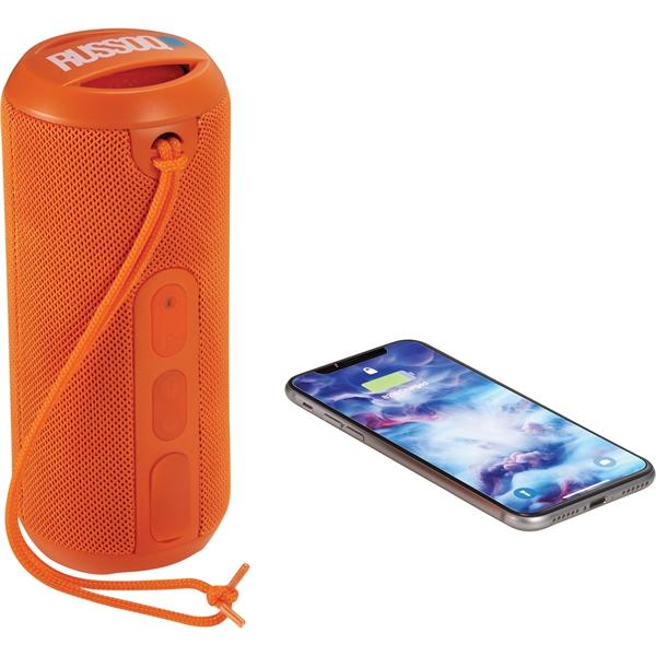 Rugged Fabric Outdoor Waterproof Bluetooth Speaker
