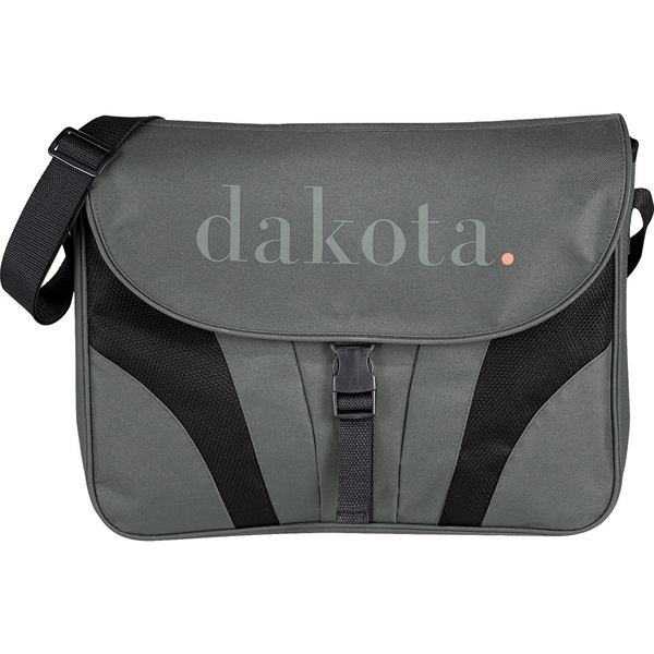 "Chrome 15"" Computer Messenger Bag"
