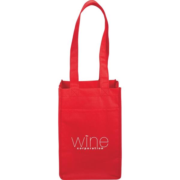 4 Pack Non-Woven Wine Tote