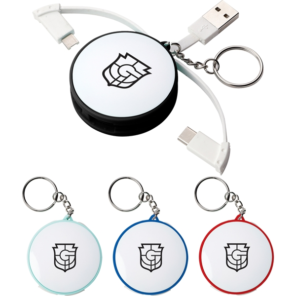 Wrap Around 3-in-1 Charging Cable