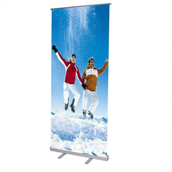 Retractable Banner Stand with 59