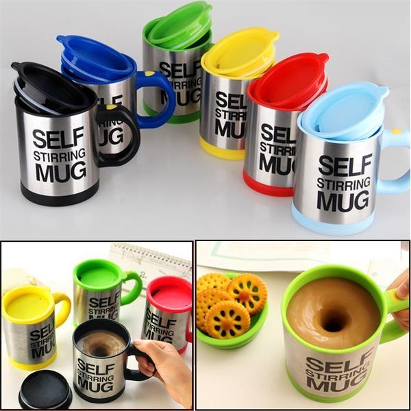 14oz Self Stir Coffee Mug