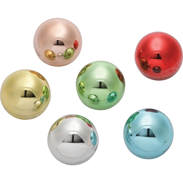 Metallic Non-SPF Raised Lip Balm Ball