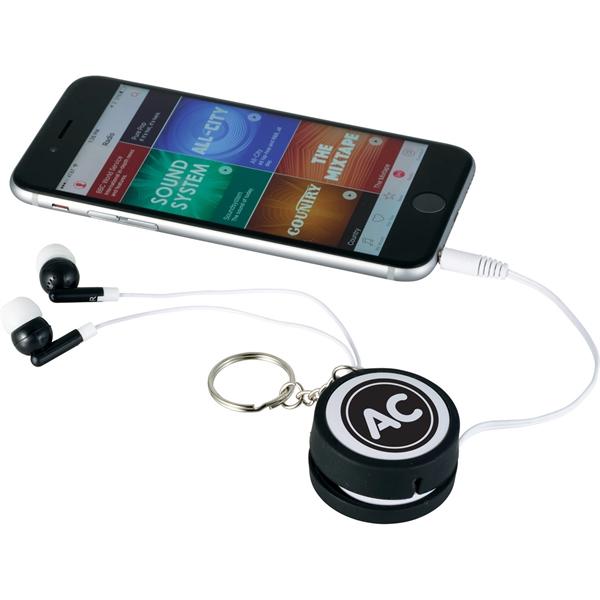 Orbit Earbud Wrap Key Tag