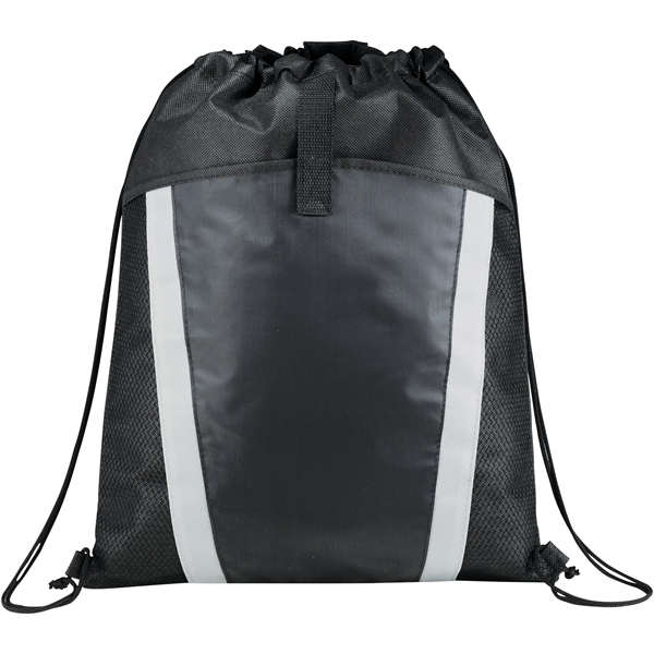 Vortex Mesh Pocket Drawstring Bag