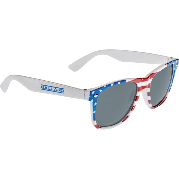 American Flag Sun Ray Sunglasses