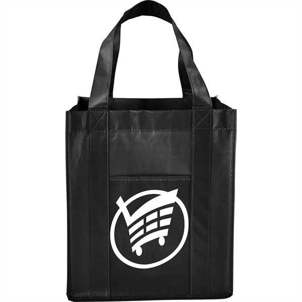 Deluxe Laminated Non-Woven Grocery Tote