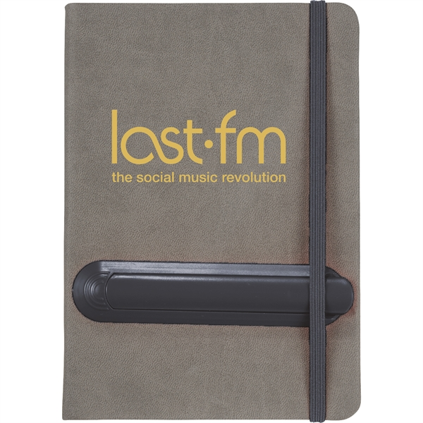 """5"""" x 7"""" Slider Notebook with Pen"""