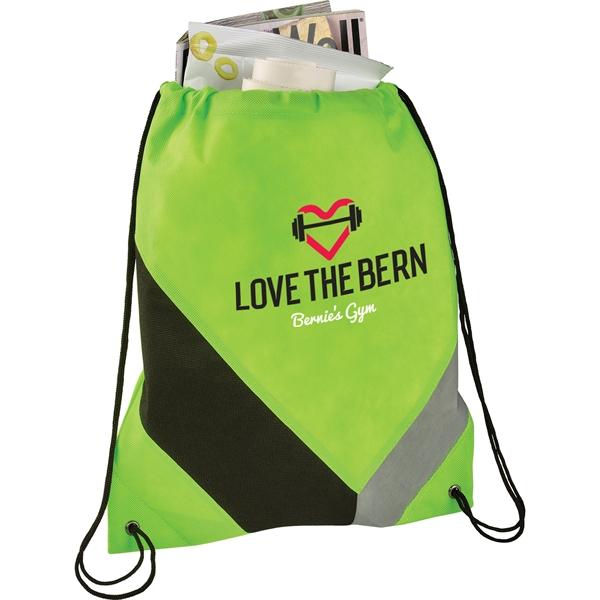 Slant Non-Woven Drawstring Bag