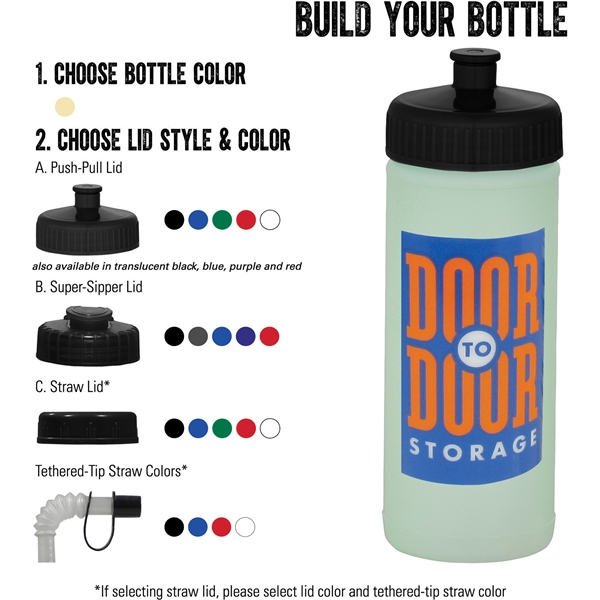 Glow Squeeze 16oz Sports Bottle