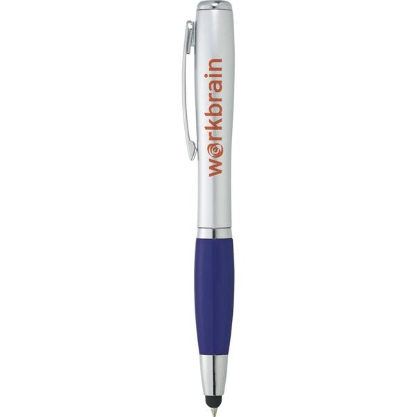 Nash Glam Ballpoint Pen-Stylus w/ Light