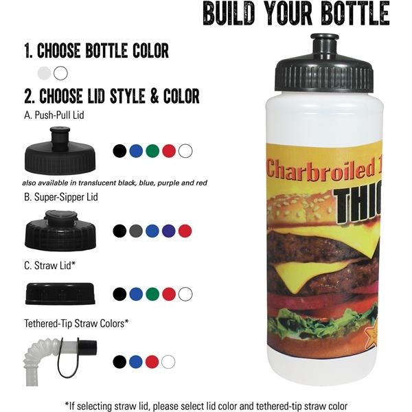 Classic Squeeze DP 32oz Sport Bottle