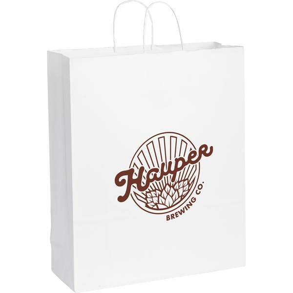 Kraft Paper Jumbo Bag White