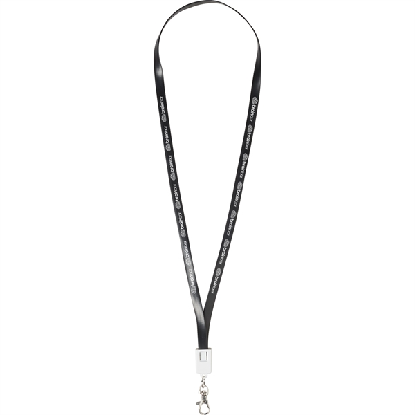 2-in-1 Charging Cable Lanyard
