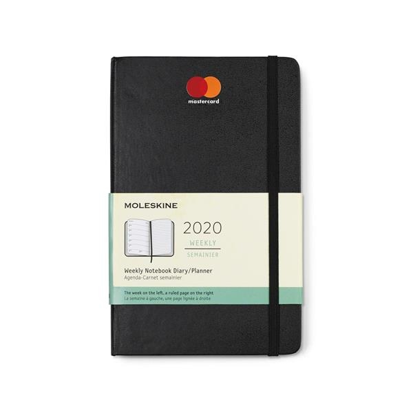 Moleskine® Hard Cover Large 12-Month Weekly 2020 Planner