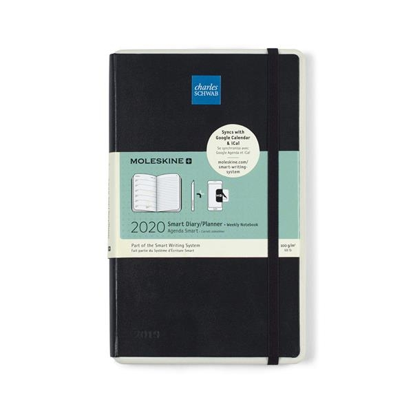 Moleskine Hard Cover Large 12-Month Weekly 2020 Planner