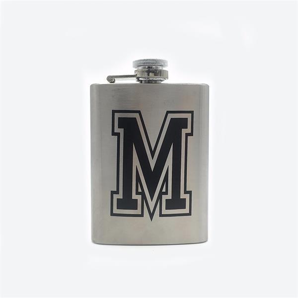 4 oz. Stainless Steel Liquor Flask
