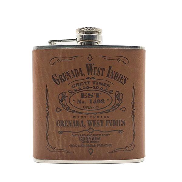 Leather Liquor Flask 5 Ounce