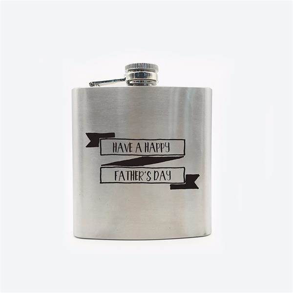 5 ounce Stainless Steel Color Flasks