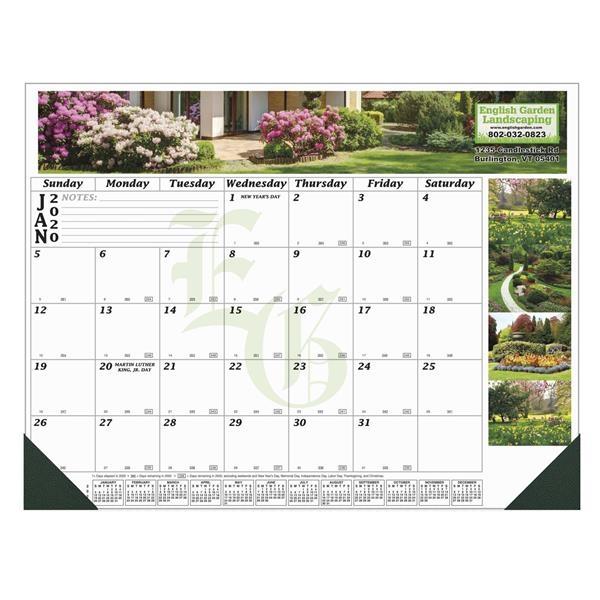 12 Month Full Color Desk Calendar - 22