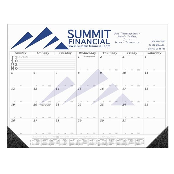 12 Month Value-Line Desk Calendar - 21 3/4