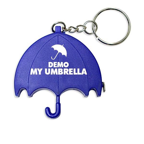 Umbrella Shape Tape Measure Key chain