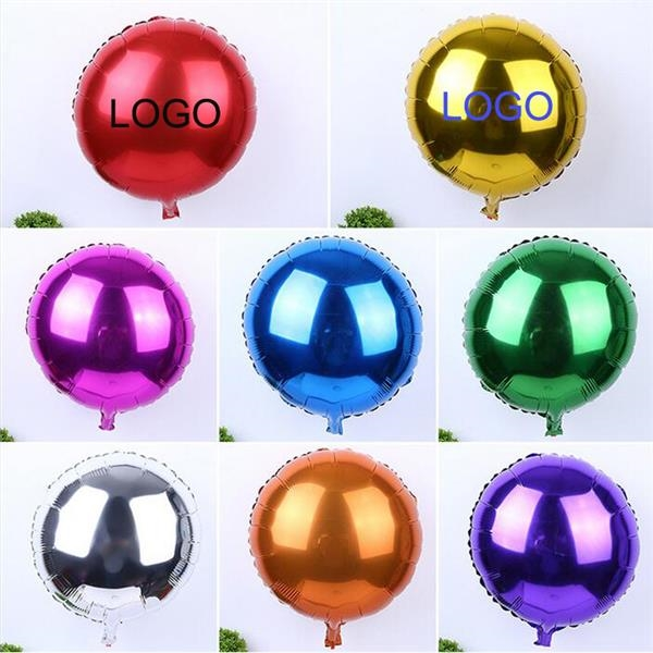 Custom Round Shape Mylar Balloon Or Aluminum Foil Balloon