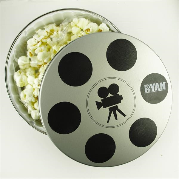 Movie Reel Butter Popcorn Tin