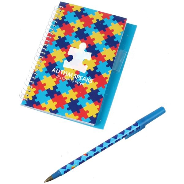 Autism Spiral Notebook