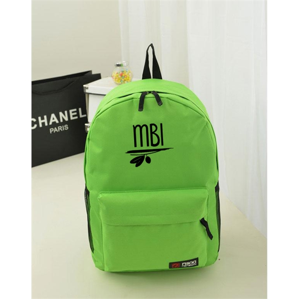 Nylon Backpack With Pocket