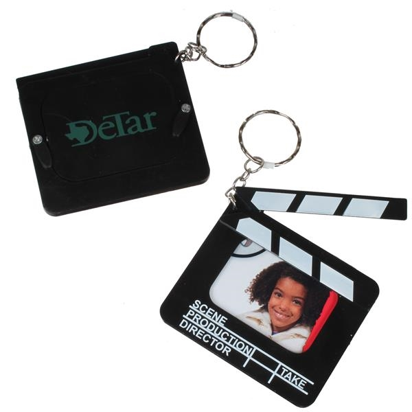 Clapboard Photo Key Chain