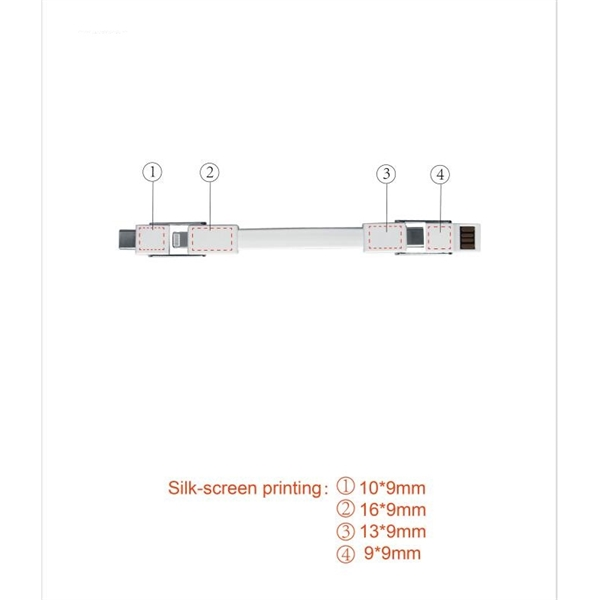 4 in 1 Magnet Charging Cable