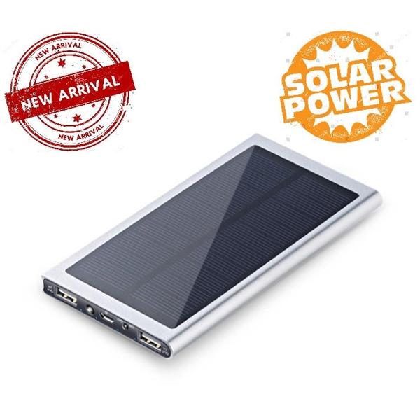 High Capacity Solar Portable Power Bank