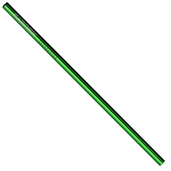 Green Stainless Steel Straw qty 1